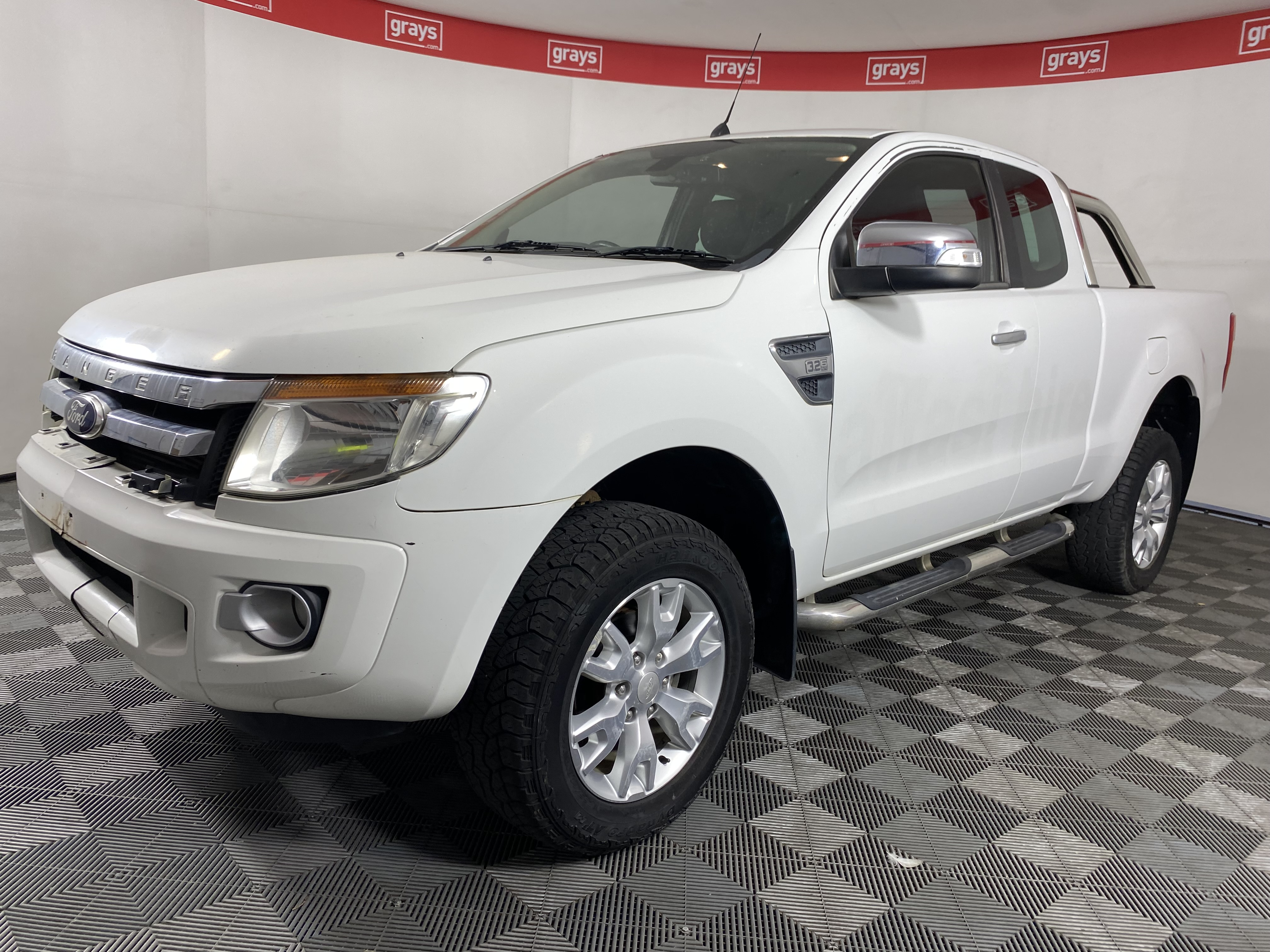2013 Ford Ranger XLT 4X4 PX Turbo Diesel Automatic Ute