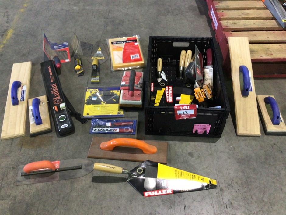 Tiling Hand Tools