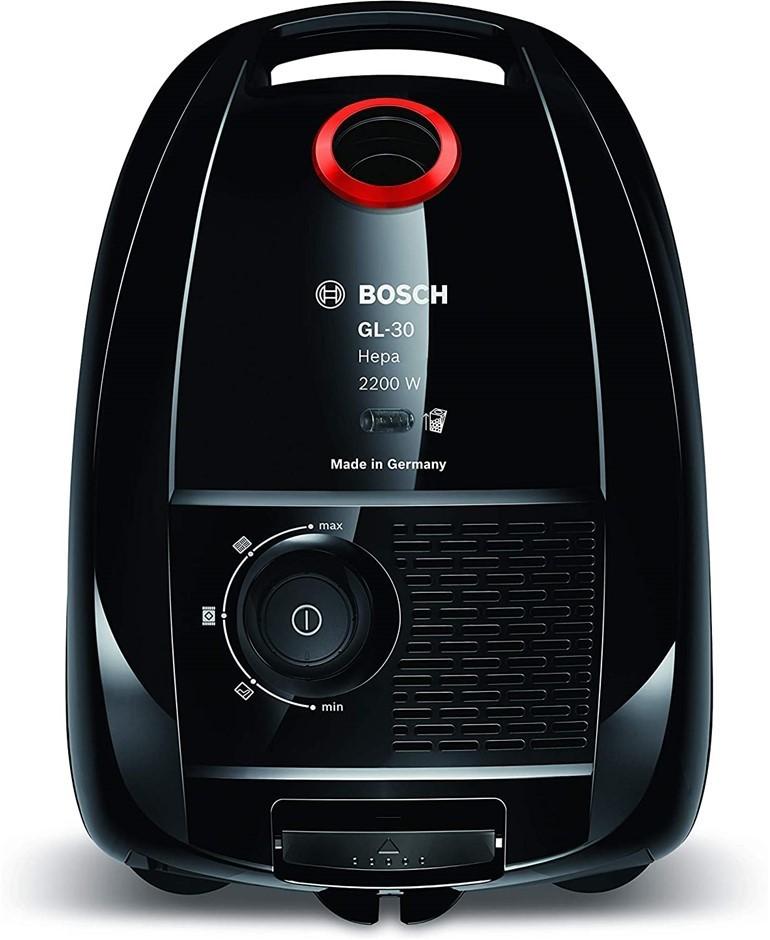 BOSCH 2200W ProPower Bagged Vacuum Cleaner, Black. Model GL-30. NB: Slight