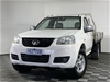 2012 Great Wall V240 4X2 Manual Cab Chassis