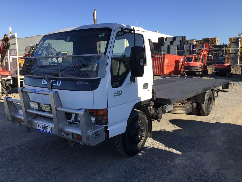 1998 ISUZU NPR798A 4 x 2 Tray Body Truck