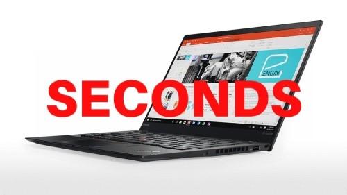 Lenovo ThinkPad X1 Carbon 5th Gen 14-inch Notebook, Black