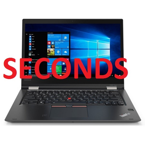 Lenovo ThinkPad X380 Yoga 13.3-inch Notebook, Black