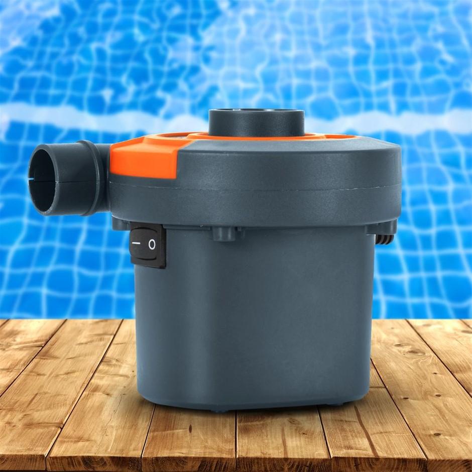 Bestway Sidewinder Electric AC Air Pump for Inflatables 3 Valve Adaptor