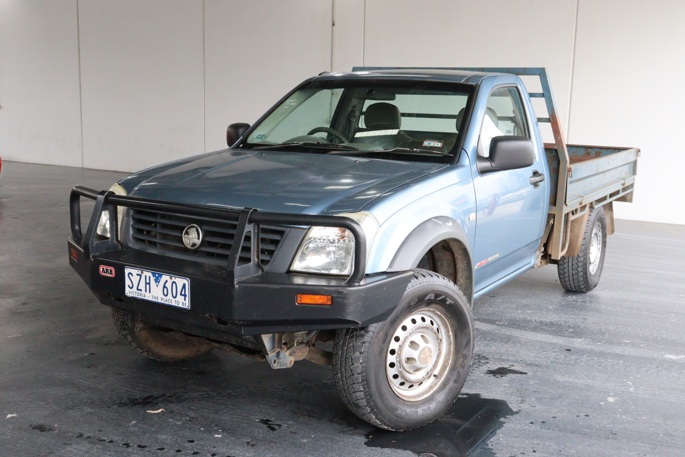 2004 Holden Rodeo DX TD RA Turbo Diesel Manual Cab Chassis