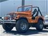 1974 Jeep Manual 4x4 SUV, 308 Engine