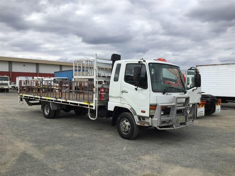 2002 Mitsubishi Fighter FK617KJRFAC 4 x 2 Tray Body Truck