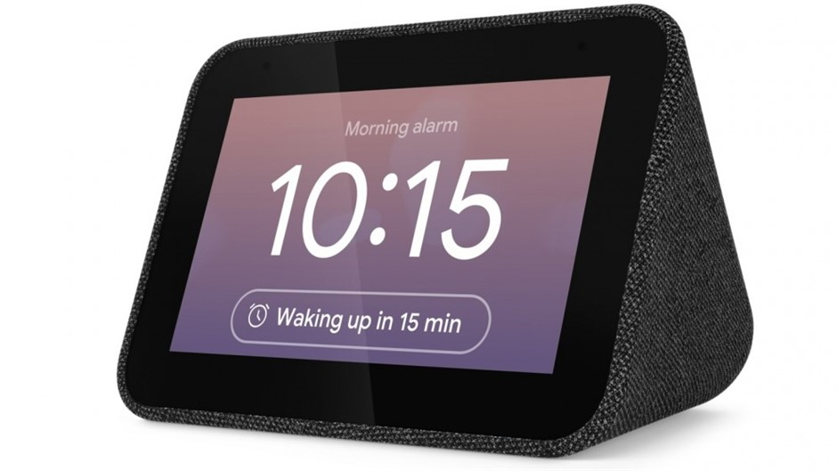 Lenovo Smart Clock with Google Assist, Black