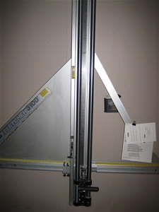 Fletcher F 1300 Wall Mounted Glass Amp Substrate Cutter