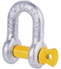 8 x Dee Shackles 13mm, WLL 2T, Grade S. Buyers Note - Discount Freight Rate