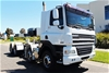 Unreserved 2009 DAF CF85-460 8 x 4 Cab Chassis Truck with 211,245kms