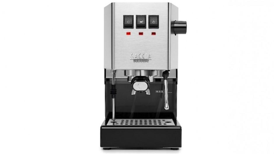 GAGGIA Milano Classic Manual Espresso Machine, Silver.