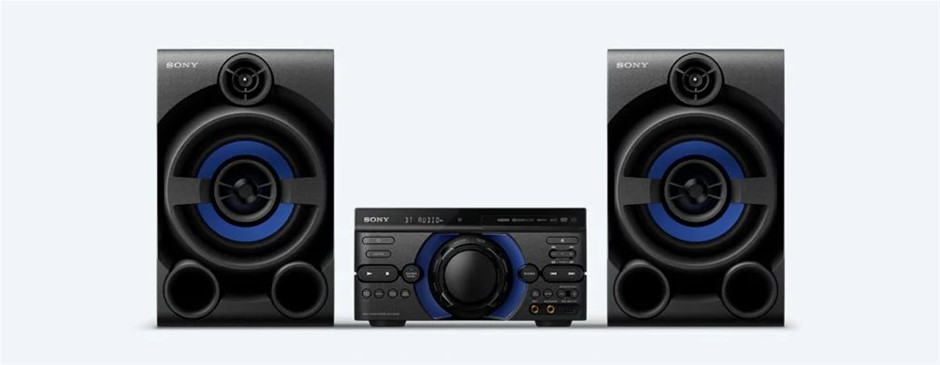 SONY M40D High Power Audio System with Integrated DVD Player, Bluetooth Ena