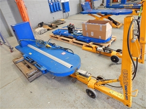 Car Aline System Car O Liner Speed Bench 2500kg Swl With