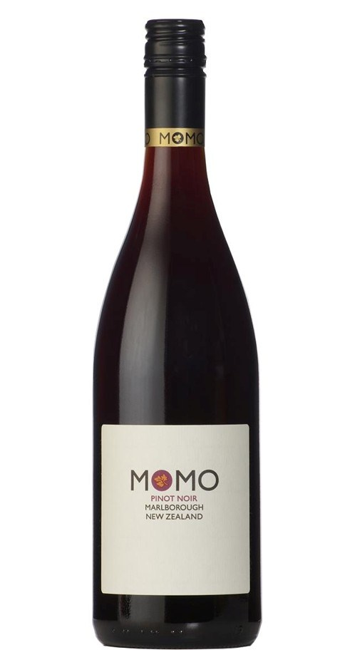 Momo Pinot Noir 2016 (12 x 750mL), Marlborough, NZ.