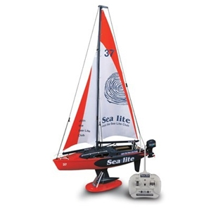 Buy Sea Lite Radio Controlled Sail Boat 1 25 Scale