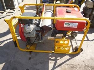 powerlite petrol generator 11kva honda 18 0hp v twin. Black Bedroom Furniture Sets. Home Design Ideas