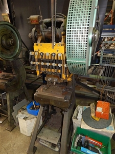 John Heine Model 202A Series 2 Inclinable Power Press ...