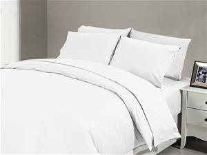 1200 TC Flat Sheet Single White