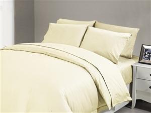 1200 TC Flat Sheet Single Ivory