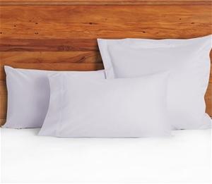 1200 TC European Pillow Cases Lilac Mist