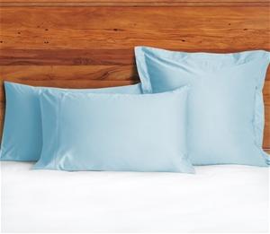 1200 TC European Pillow Cases Sky Blue x