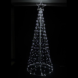 Giant 3m White Led Fairy Light Christmas Tree