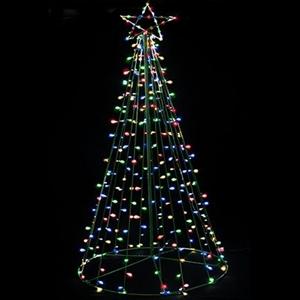 buy solar led christmas tree fairy light display multi graysonline