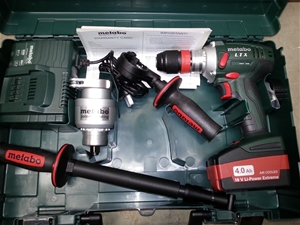 metabo bs 18 ltx x3 quick drill driver high torque cordless 18v 4 0ah 1x m auction 0005. Black Bedroom Furniture Sets. Home Design Ideas