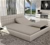 Nova Electric Adjustable Sleep System with Latex Mattresses, White