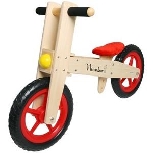 Buy Children S Wooden Balance Bike Number 1 Graysonline Australia