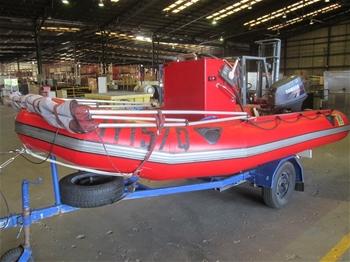 Zodiac MK3 Futura 15 4ft Inflatable Boat