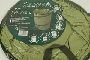 Pvc outdoor pop up bin 450mm x 580mm. buyers note discount