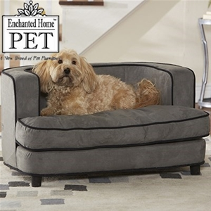 Cliff Pet Dog Bed Chic Grey