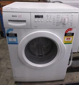 bosch front load washing machine auction 0003 3005695 graysonline australia. Black Bedroom Furniture Sets. Home Design Ideas