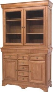 """Country Style """"Matilda"""" Range Buffet & Hutch Auction ..."""
