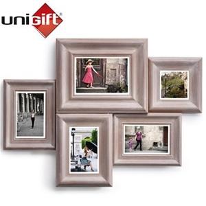 Buy Unigift Vintage 5 In 1 Wooden Collage Photos Frame Graysonline
