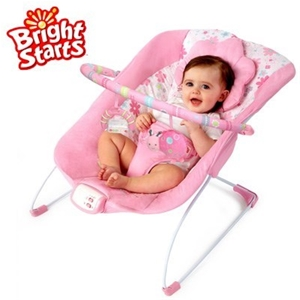 30b1100d3 Buy Bright Starts Pretty in Pink Baby Bouncer