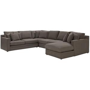 Freedom Furniture Andersen Corner Modular Sofa Auction 0006 8503620 Graysonline Australia