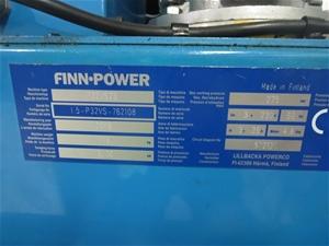 Finn - Power P32 hose crimping machine, Model No  P32VS23