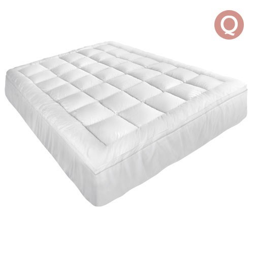 Giselle Bedding Queen Size Memory Resistant Mattress Topper