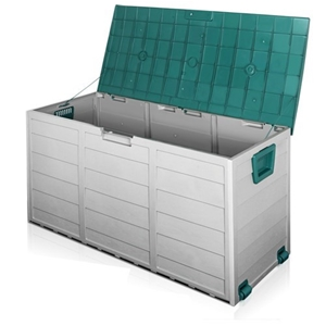 Giantz 290L Outdoor Storage Box - Green