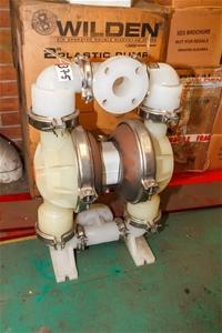 Pneumatic diaphragm pump wilden model t8pwpbunnepbn 2 inch twin pneumatic diaphragm pump wilden model t ccuart Images