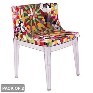 buy 2 x philippe starck mademoiselle replica chairs graysonline