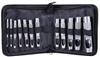 BERENT 12pc Hole Punch Set, Sizes; 3, 4, 5, 6, 7, 8, 9, 10, 11, 12, 14, 16,