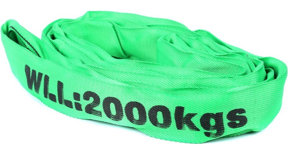 Round Lifting Sling, WLL 2000kg x 2M (With Test Cert). Buyers Note - Discou