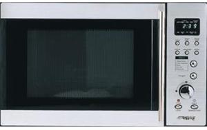 Smeg 30l Stainless Steel Microwave Oven Model Sa31 1mx