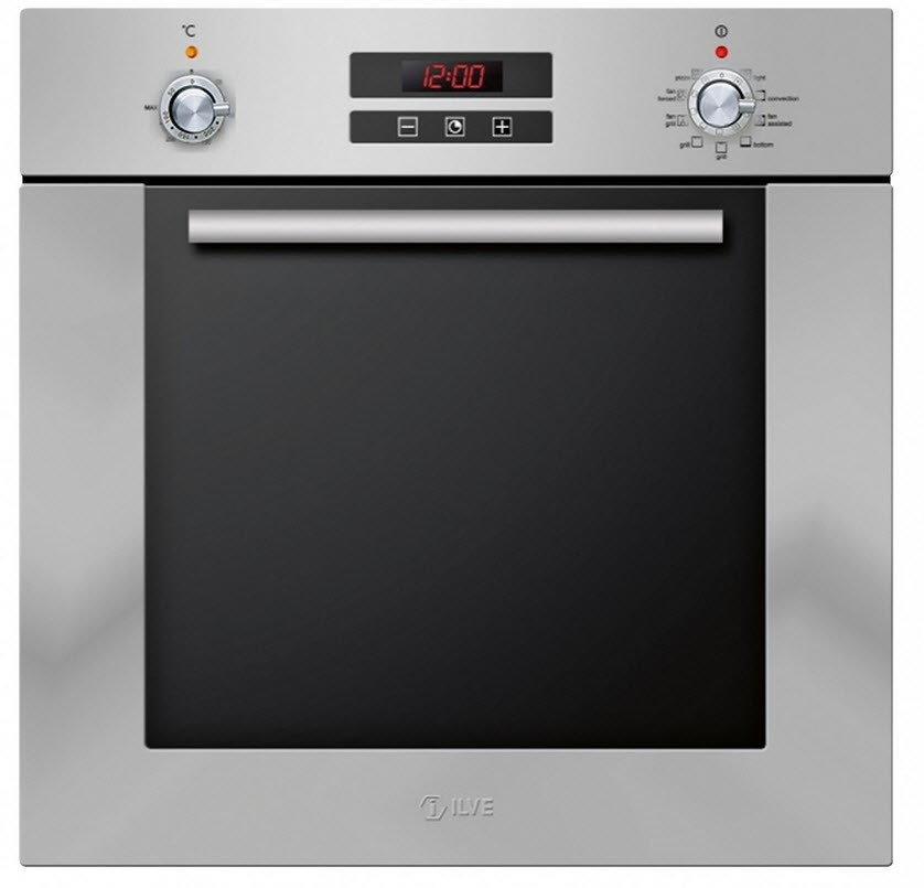 Ilve 60cm Stainless Steel Built-in Oven (HN600SMP/I)