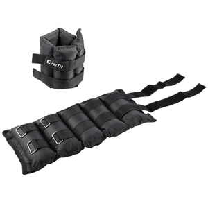 Everfit Set of 2 Wrist Ankle Weights 5kg