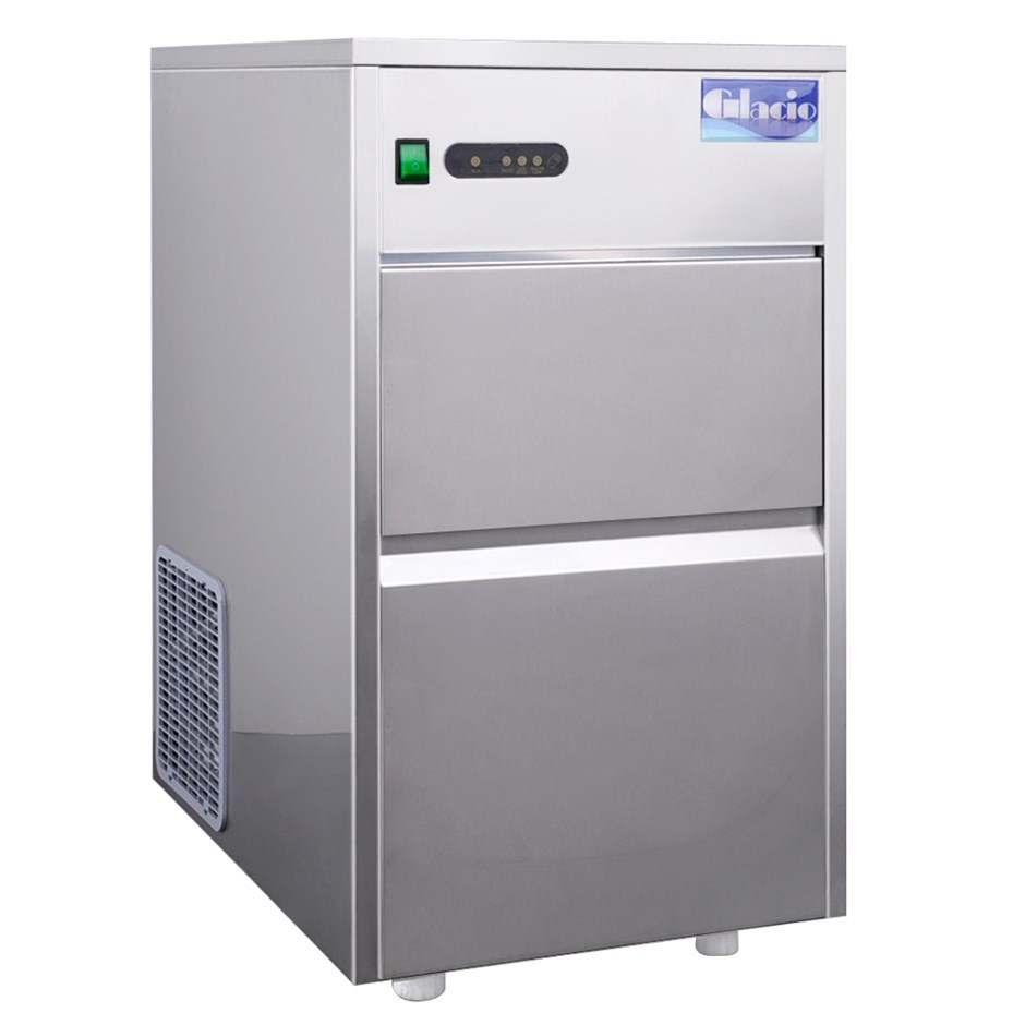 Glacio Stainless Steel Commercial Ice Maker